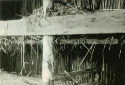 Verscholen dorp Hut Vroeger