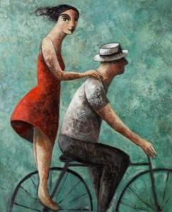 uit de kunst fietsen