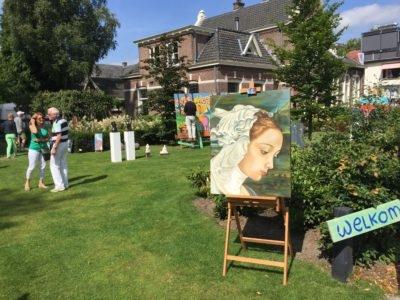 kunst in tuin