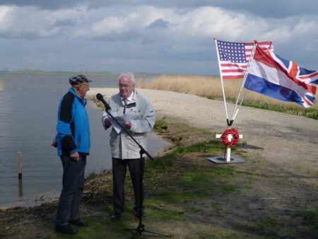 Jan Hoksbergen bij vindplek